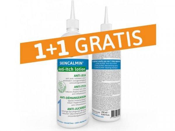 anti-itch lotion 250 ml 1+1 gratis