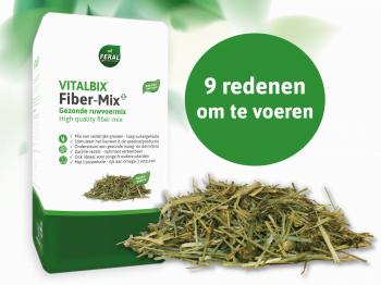 Vitalbix Fiber-Mix – wanneer ideaal om te voeren? Ontdek het hier!
